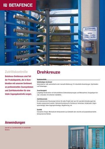 Drehkreuze - Zaunsysteme