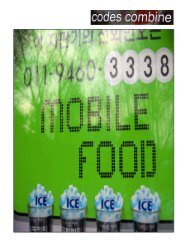 Mobile Food Catalogue