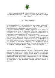 projecto de luta contra a pobreza - Câmara Municipal de Cuba