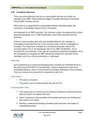 Policy 3.93: Immediate dismissal