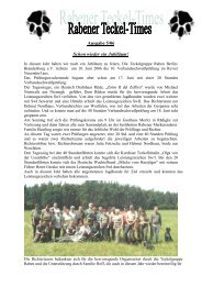 Ausgabe 5/06 - Teckelgruppe Raben
