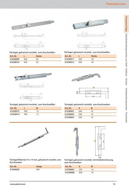 Produktkatalog 2013/14 - Plarol