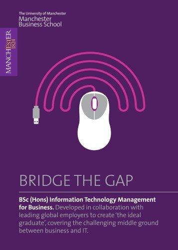 BRIDGE THE GAP - contentlibrary