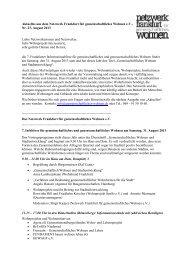 Nr. 23 / August 2013 - Netzwerk Frankfurt für gemeinschaftliches ...
