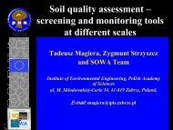 Soil quality assessment - Proland.iung.pulawy.pl