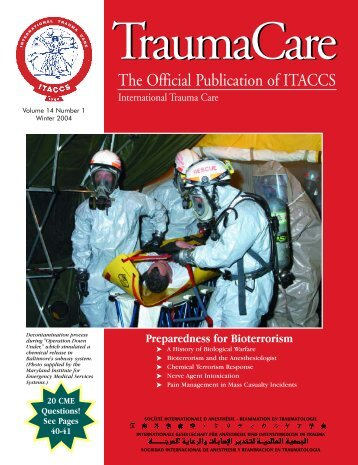 Table of Contents and Publisher's information - International Trauma ...