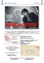 ARTISTI 2009 - Agenzia di Spettacolo ARTEFANTASIA Eventi