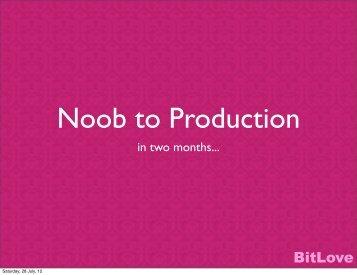 BitLove - Erlang Factory