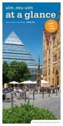 Informative City-Guide · ENGLISH - Ulm/Neu-Ulm