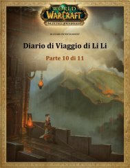 Diario di Viaggio di Li Li - Blizzard Entertainment