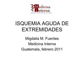 Diapositiva 1 - Departamento de Medicina Interna Hospital General ...