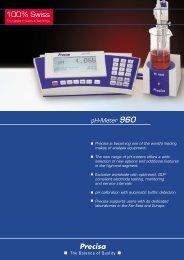 pH-Meter 960 - Precisa