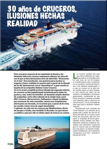 30 años de CRUCEROS, ILUSIONES HECHAS ... - TAT Revista