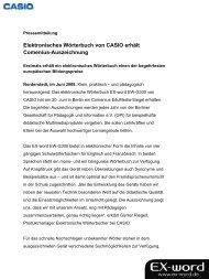 Elektronisches Wörterbuch von CASIO erhält ... - Mann beisst Hund