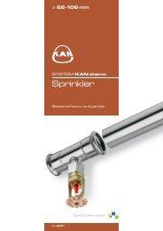 Folder KAN-therm Sprinkler