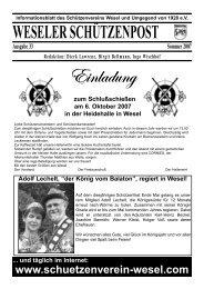 """Adolf Lechelt, """"der König vom Balaton"""", regiert in Wesel!"""