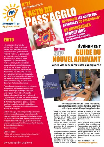 Pass'aGGLo - Montpellier Agglomération