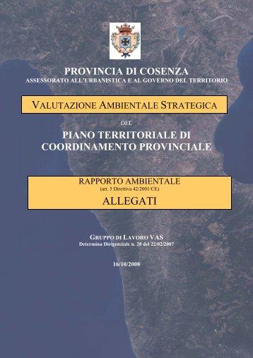 ALLEGATI - Provincia di Cosenza