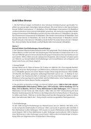 Gold Silber Bronze - Schweizerisches Schützenmuseum Bern