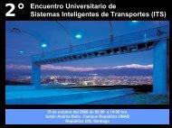 Encuentro Universitario de Sistemas Inteligentes de Transportes (ITS)