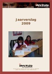Jaarverslag 2009.pmd - Inmenszo