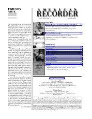 Download - American Recorder Society