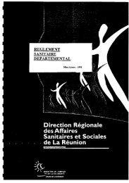 Le RSD de La Réunion - ARS Océan Indien