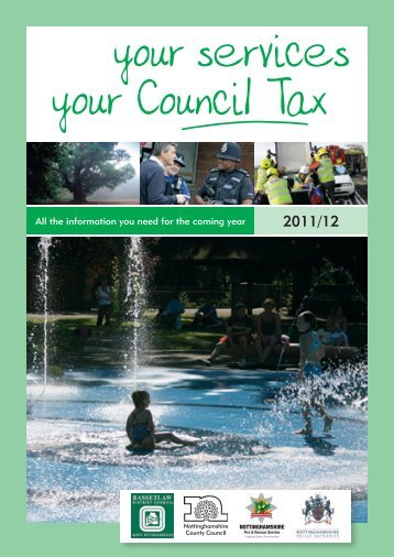 your services your Council Tax - Bassetlaw District Council