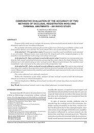 an invivo study - Pakistan Oral and Dental Journal - PODJ