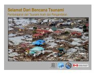 Selamat Dari Bencana Tsunami - GITEWS
