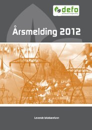 Årsmelding 2012 - Defo