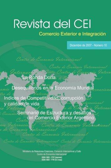 Revista del CEI 10.pdf - Centro de Economía Internacional