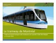 Le tramway de Montréal - HEC Montréal
