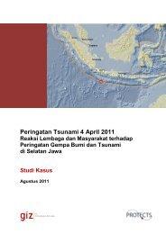 Peringatan Tsunami 4 April 2011 - GITEWS