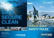 Waka Ama safety rules - Maritime New Zealand