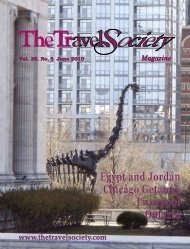 Vol. 29 No. 5 June 2010 - The Travel Society