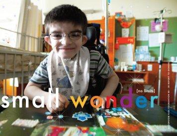 small wonder[no limits] - Holland Bloorview Kids Rehabilitation ...
