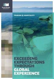 Tourism and Hospitality Brochure - Educouturier