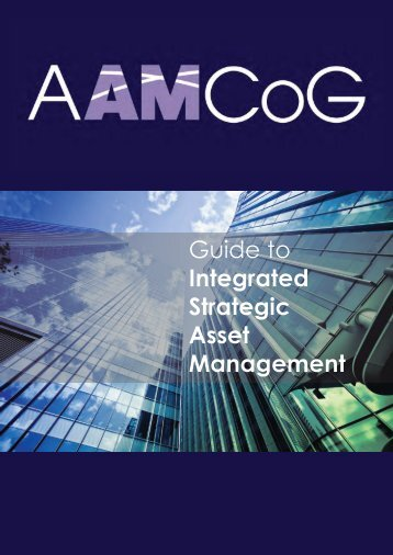 Guide to Integrated Strategic Asset Management - AAMCoG
