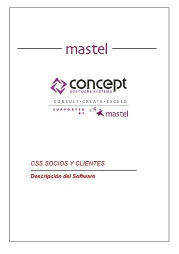 Descargar Información CSS Socios y Clientes - Concept Software