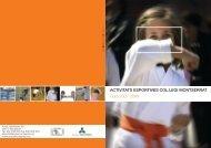 Catàleg Activitats Esportives Curs 2.007 - Col.legi Montserrat