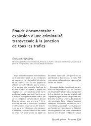 Fraude documentaire : explosion d'une criminalité ... - rts.ch