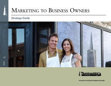 Marketing to Business Owners - Strategy Guide - Lookinghelp.com h ...