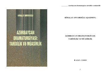 azərbaycan dramaturgiyası - Kitabxana