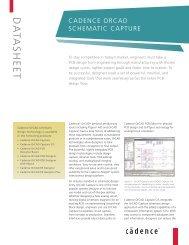 Cadence Orcad Schematic Capture - Cadence - Cadence Design ...