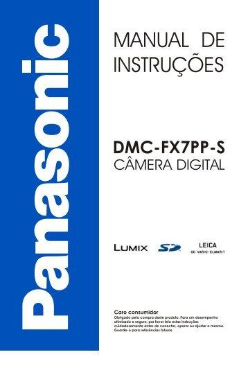 MANUAL DE INSTRUÇÕES - Panasonic