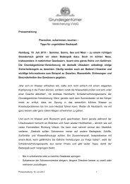 Tipps für ungetrübten Badespaß Hamburg, 16. Juli 2013