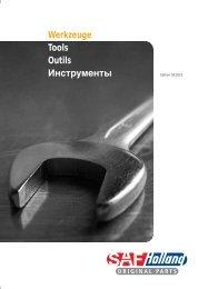 Werkzeuge Tools Outils Инструменты - saf-holland baltic