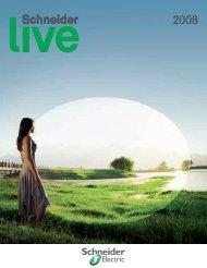 Schneider LIVE 2008 als PDF (7.62MB) - Schneider Electric (Schweiz)
