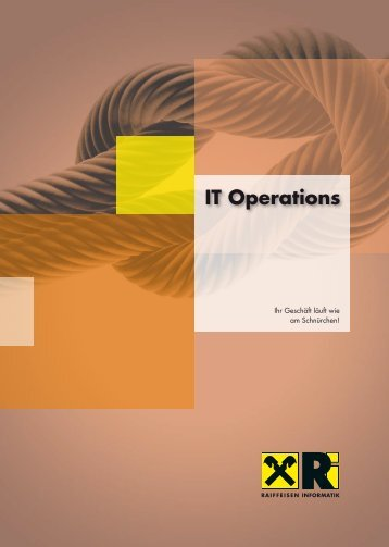 IT Operations - Raiffeisen Informatik